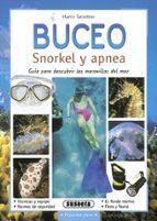 buceo: snorkel y apnea: guia para descubrir las maravillas del ma r-marco tarantino-9788430553624