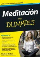 meditacion para dummies-stephan bodian-9788432901324