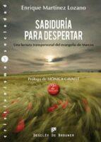 sabiduria para despertar: una lectura transpersonal del evangelio de marcos enrique martinez lozano 9788433024824