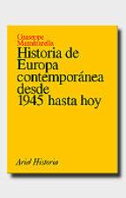 historia de europa contemporanea desde 1945 hasta hoy (2ª ed.) giuseppe mammarella 9788434465824