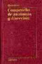 compendio de anatomia y diseccion henry rouviere 9788445801024