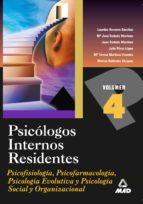 PSICOLOGOS INTERNOS RESIDENTES. TEMARIO (VOL. IV)