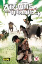 ataque a los titanes 20-hajime isayama-9788467925524