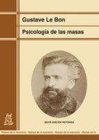 psicologia de las masas gustave le bon 9788471122124