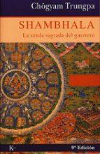 shambhala chogyam trungpa 9788472452824