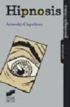 hipnosis antonio capafons 9788477388524