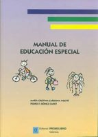 manual de educacion especial-pedro f. gomez canet-maria cristina cardona molto-9788479864224