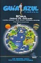 roma y ciudad del vaticano (guia azul)-9788480236324
