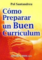 como preparar un buen curriculum-pol santandreu-9788480889124