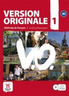 version originale 1, cd rom guide pedagogique 9788484435624