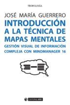 introducción a la técnica de mapas mentales jose maria guerrero 9788491165224
