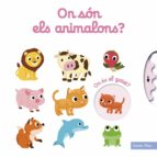 on son els animalons? nathalie choux 9788491373124