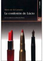 la confesion de lucio-mario de sa-carneiro-9788496675124