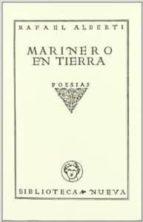 marinero en tierra (ed. facsimil) rafael alberti 9788497421324