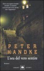 l ora del vero sentire-peter handke-9788811667124