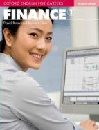 oxford english for careers finance 1 student s book-9780194569934