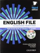 english file pre intermediate third ed. student s book with workbook with key pack clive oxenden cristina latham koenig paul seligson 9780194598934