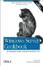El libro de Windows server cookbook autor ROBBIE ALLEN EPUB!