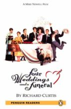 penguin readers 5: four weddings and a funeral book and mp3 pack (penguin readers (graded readers)) 9781408276334