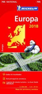 mapa national europa 2018 9782067228634