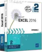 excel 2016 pack 2 libros pierre rigollet 9782409010934