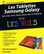 tablettes samsung galaxy tab pour les nuls, nouvelle édition (ebook)-dan gookin-9782754070034