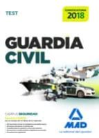 guardia civil. test para la preparación de oposición 9788414210734