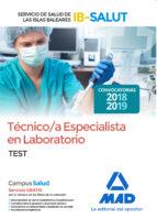 tecnico/a especialista de laboratorio del servicio de salud de las illes balears: test-9788414218334