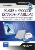 planes de negocio y estudios de viabilidad (ebook)-luis muñiz-9788415330134
