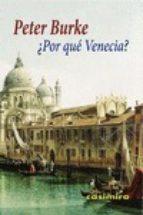 ¿por que venecia? peter burke 9788415715634