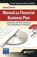 manual del financial business plan antoni baron pladevall 9788415735434