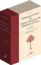 estuche robison crusoe y nuevas aventuras de robinson crusoe (2 v ols.) daniel defoe 9788435010634