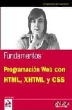 fundamentos programacion web con html, xhtml y css jon duckett 9788441524934