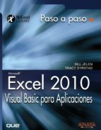 excel 2010: visual basic para aplicaciones bill jelen tracy syrstad 9788441528734