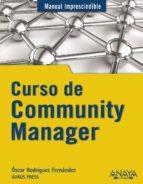 curso de community manager-oscar rodriguez fernandez-9788441531734