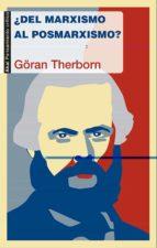 ¿del marxismo al posmarxismo? göran therborn 9788446039334