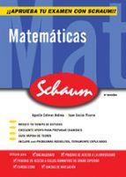 matematicas (schaum selectividad) (2ª ed.) agustin estevez andreu juan enciso pizarro 9788448198534