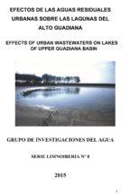 efectos de las aguas residuales urbanas sobre las lagunas del alto guadiana (ebook)-9788460662334