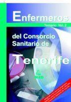 ENFERMEROS DEL CONSORCIO SANITARIO DE TENERIFE: TEMARIO (VOL. II)