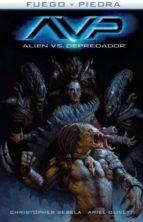 alien vs depredador: fuego y piedra 3 christopher sebela ariel olivetti 9788467927634