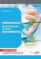 ENFERMERO/A DEL SERVICIO NAVARRO DE SALUD-OSASUNBIDEA. TEMARIO VO L. IV