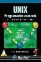 unix: programacion avanzada (3ª ed.) francisco m. marquez 9788478976034
