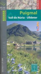 mapa puigmal vall de nuria ulldeter-9788480905534