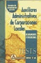 auxiliares administrativos de corporaciones locales: tests (10ª e d.)-manuel segura ruiz-9788482191034
