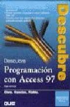 descubre access 97: programacion avanzada-roger jennings-9788483220634