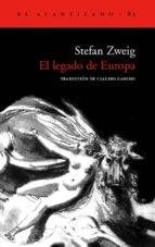 el legado de europa stefan zweig 9788496136434