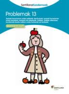 koadernoa 13  problemak euskara ed 13-9788498943634
