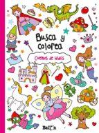 busca y colorea: cuentos de hadas 9789037493634