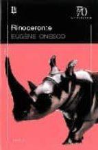 rinoceronte eugene ionesco 9789500396134
