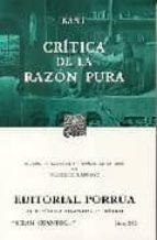 Critica de la razon pura por Immanuel kant 978-9700756134 DJVU PDF